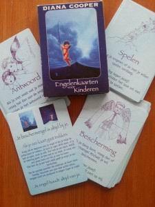 Engelen kaarten voor kinderen